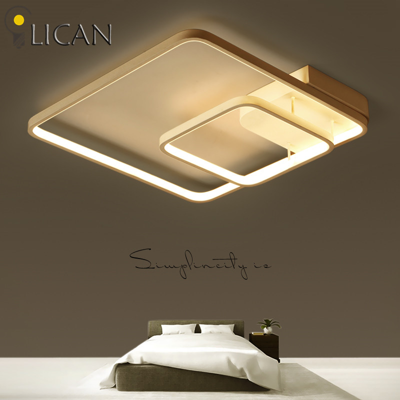 Acrylic Modern Led Ceiling Lights Lampara De Techo For Living Room Bedroom Led Lustres Plafond Ceiling Lamp Lighting Fixtures Fine Quality Ceiling Lights Lights & Lighting