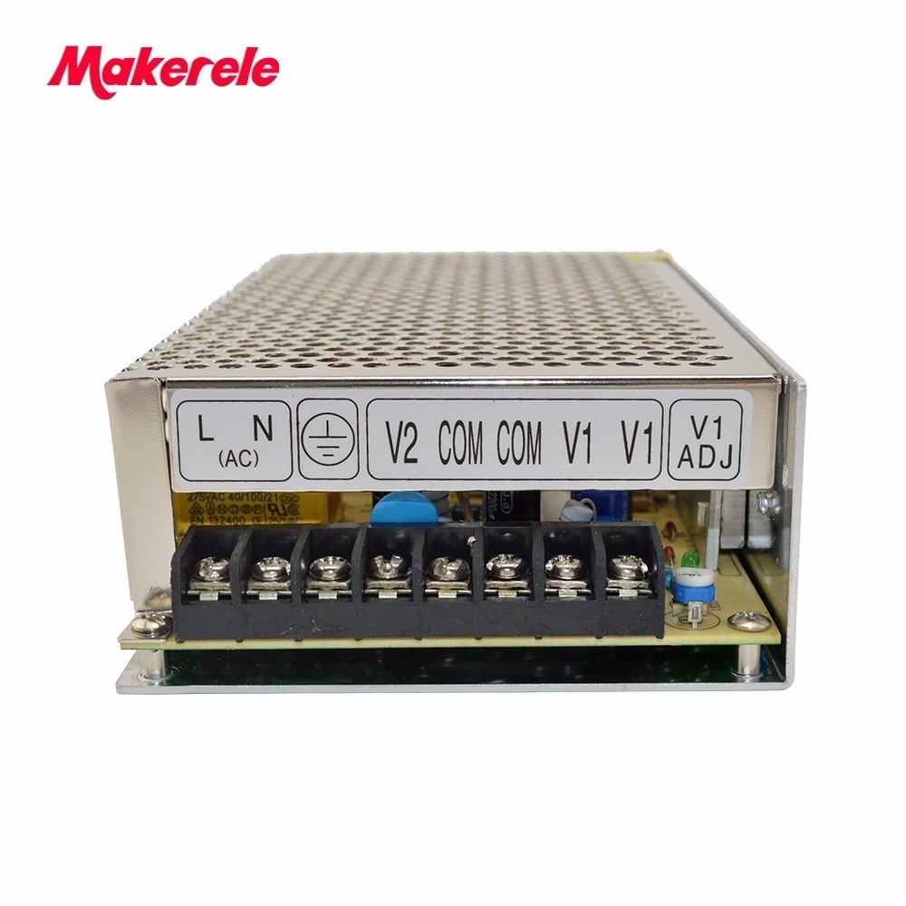 D-120F12 12V -12V volt 120w 5A 5A dual output switching power supply can be customized led light SMPS Dual