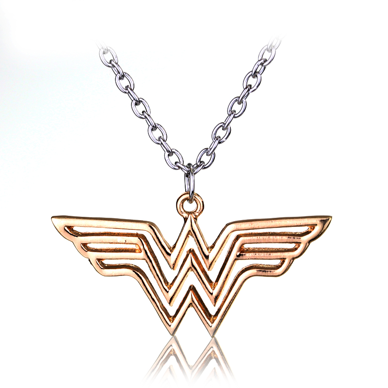 WONDER WOMAN Logo Metal Kolye
