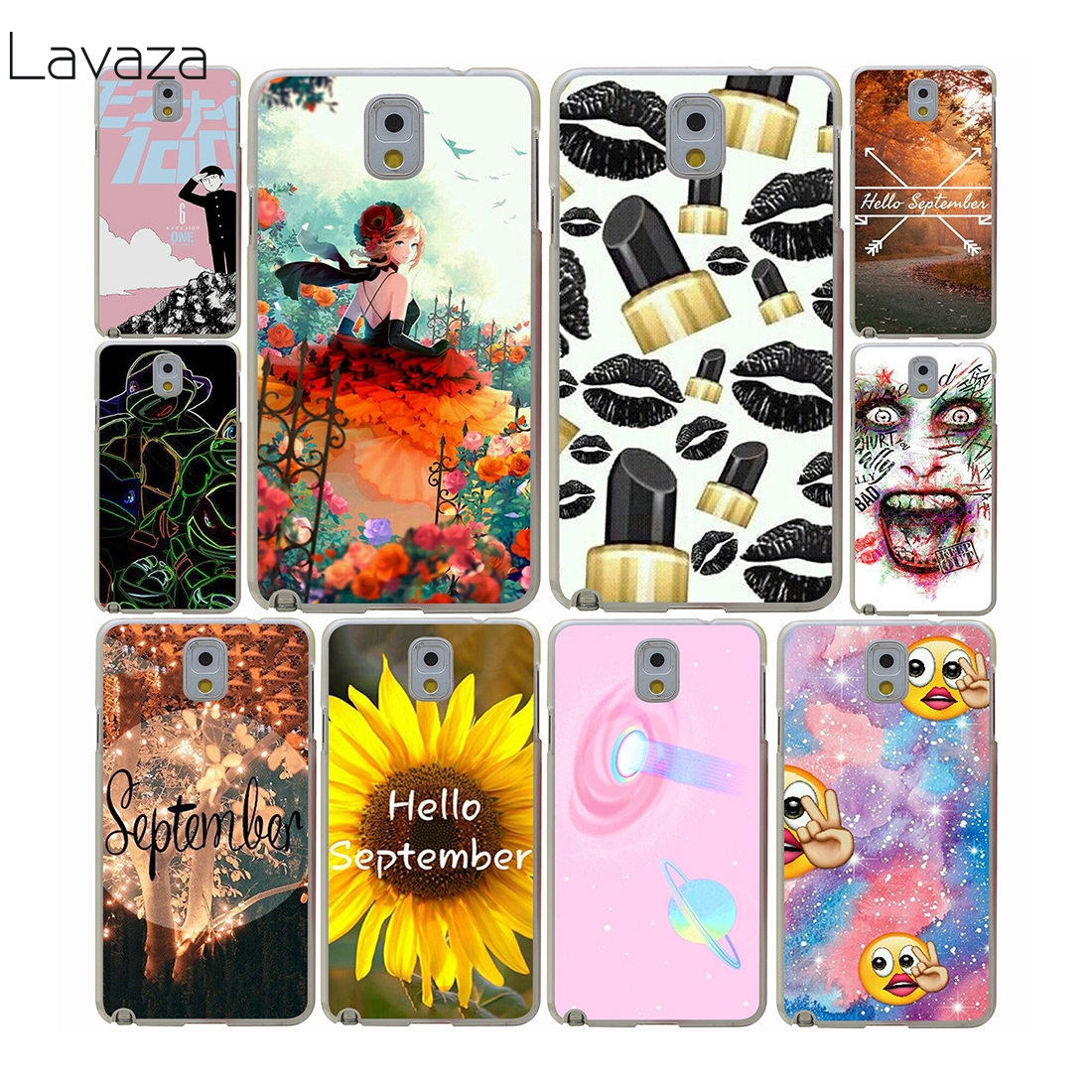 Lavaza anime sanat Hard Case samsung Galaxy A3 A5 A7 A8 Artı 2018 2017 2015 Grand 2 Başbakan Not 8