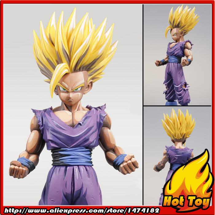 Original Banpresto Master Stars Piece MSP Overseas Limited Edition Figure - Super Saiyan Son Gohan from Dragon Ball Z
