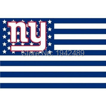 3ft x 5ft New York Giants Bayrak bayrak banner 100D Dijital Baskı bayrağı