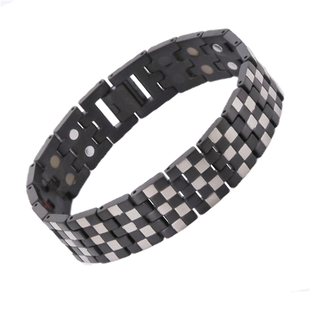 New Arrival Health Bracelet Double Line Germanium Magnetic pulseira masculina Hand Chain Bracelets Brithday therapy bracelet