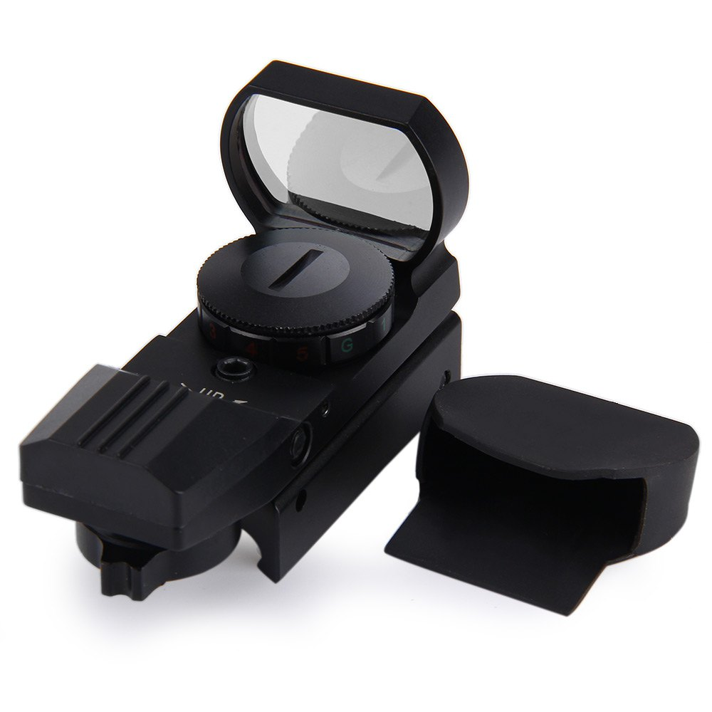 Avcılık Airsoft Optik Kapsam Holografik Red Dot Sight Refleks 4 Reticle Taktik Silah Aksesuarları 11/20mm Hassas Ray Riflescope