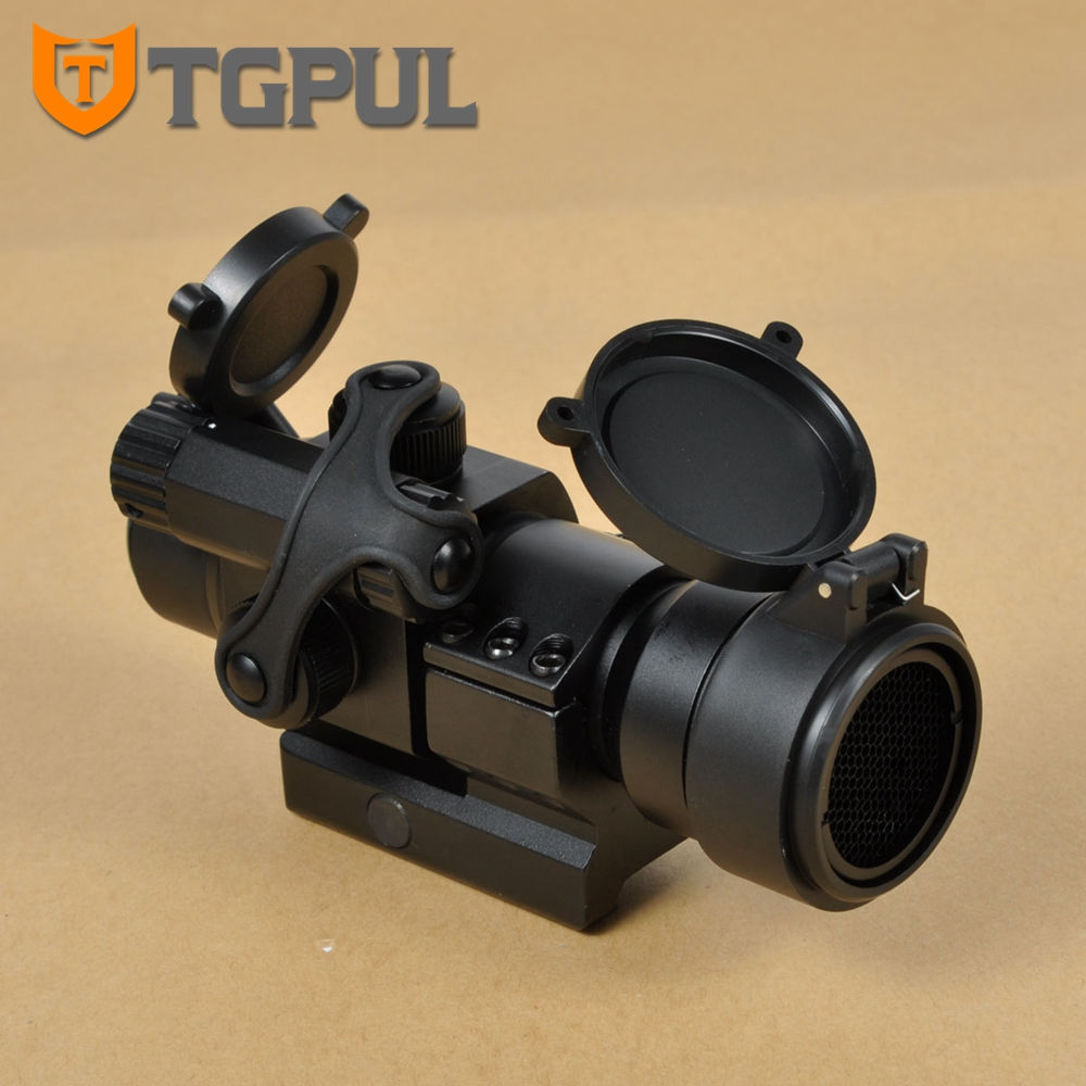 4 Moa TGPUL Taktik Av Kapsamları Tüfek Optik Kapsam Zorunlu M2 Red Dot Sight Killflash ve Lens Kapağı 20mm Weaver Picatinny ile