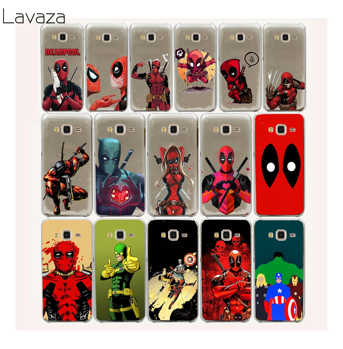 Lavaza 12FF Asker Deadpool Hard Case samsung Galaxy J3 2015 KAPAK coque