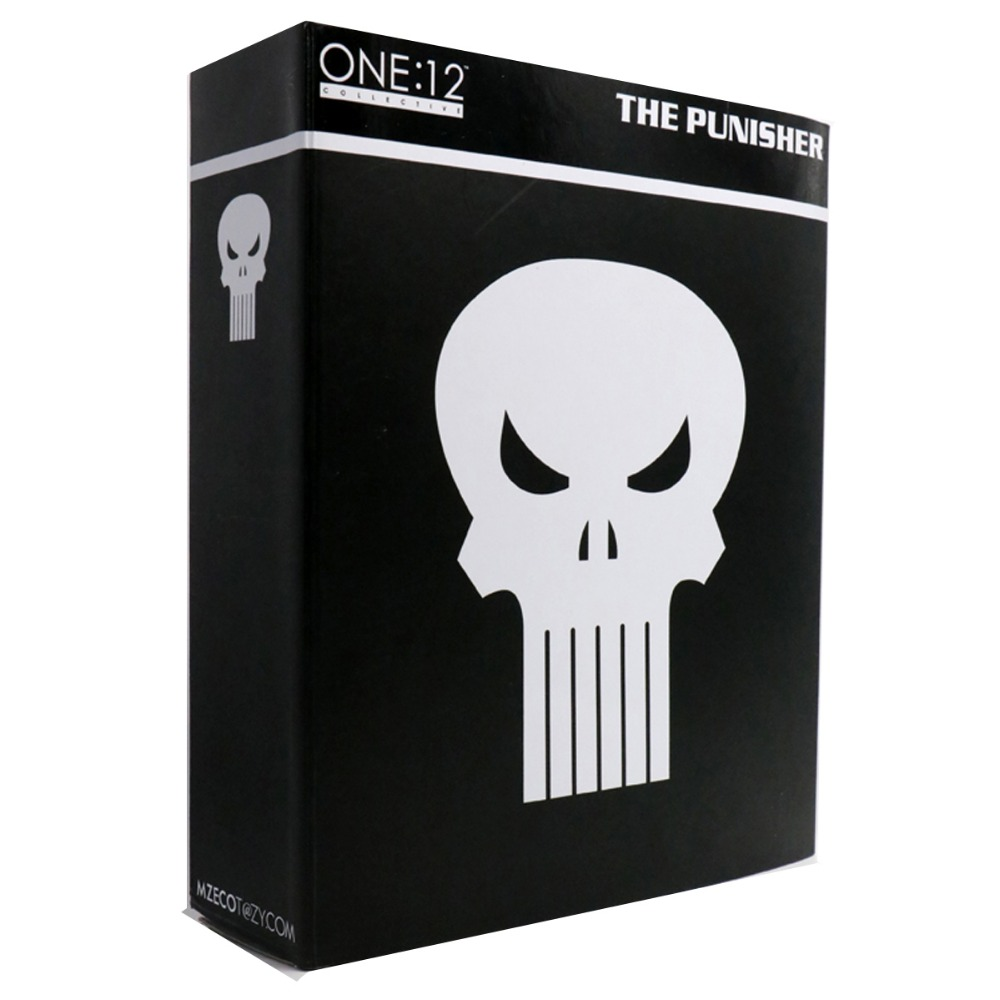 Mezco Punisher Rakam Tek: 12 Toplu 6 Action Figure Ücretsiz Nakliye