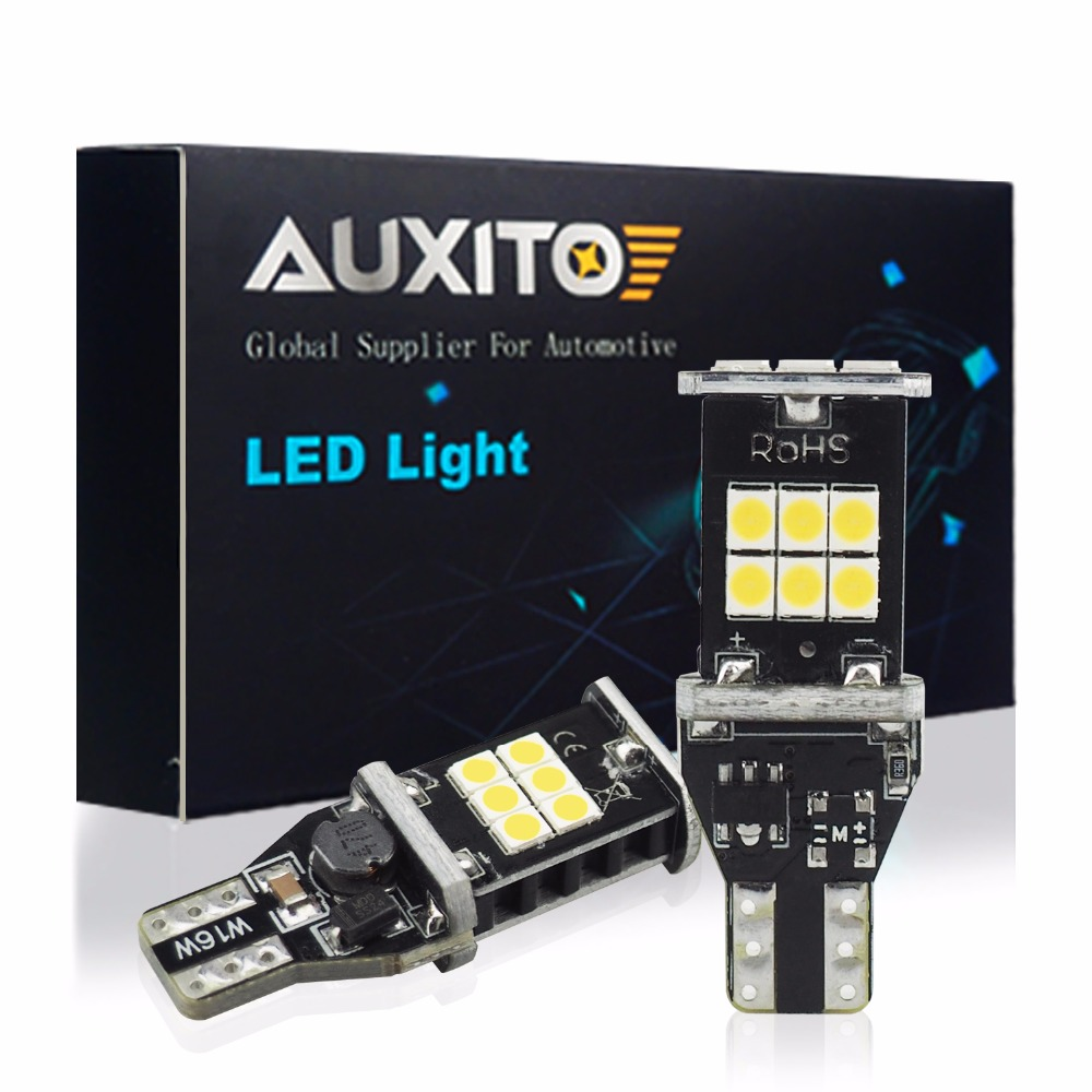 AUXITO Canbus T15 W16W LED 921 912 Audi A3 A4 A5 Araba Yedekleme Işık A6 A7 A8 Q3 Q5 Q7 S4 S5 S6 S7 S8 SQ5 TT Quattro Allroad